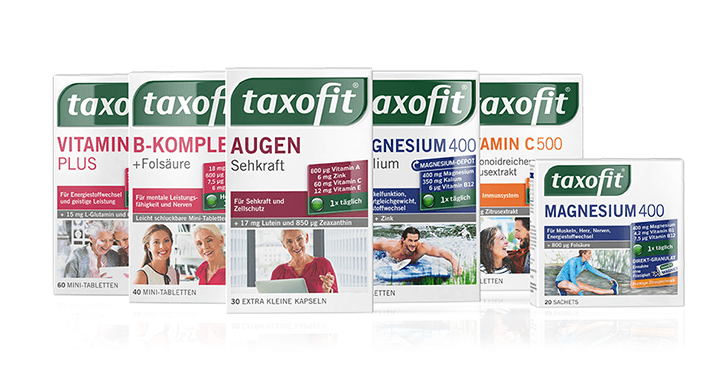 Taxofit packaging design